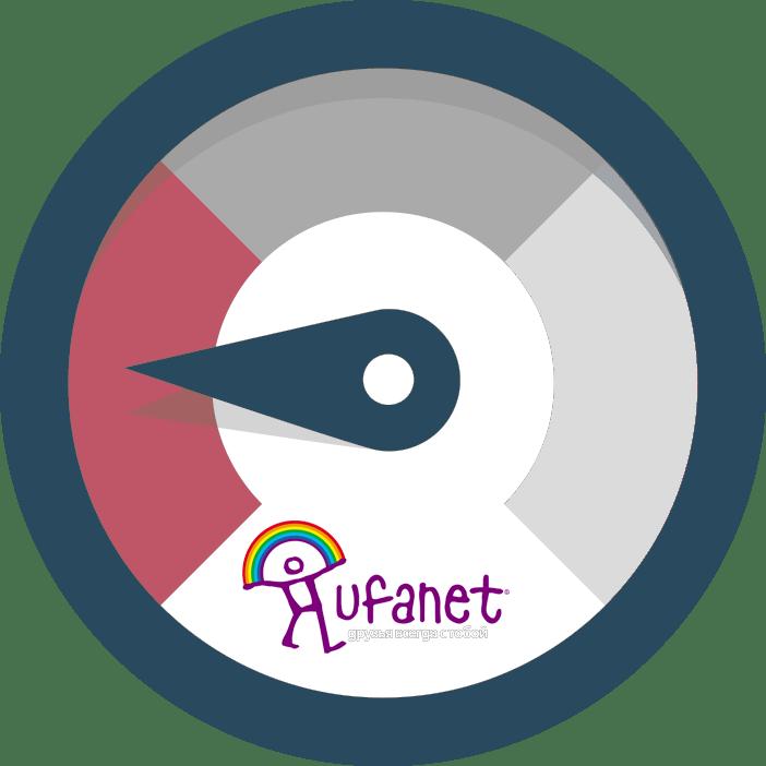 Скорость интернета Уфанет: тест и повышение